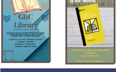 GBC Library / Featured Book of the Month